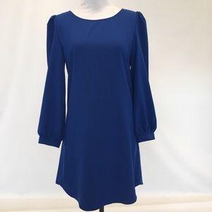 Cobalt Long Sleeve Dress